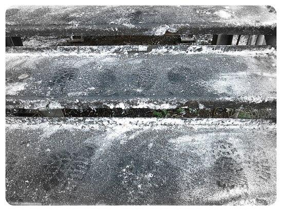 Avtryck av den första vinterdagen… Har Ötzi Ismannen redan varit här?