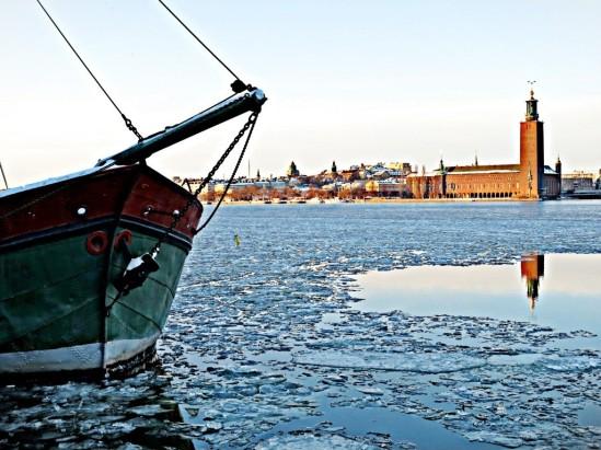 Riddarfjärden på is I / © LEX 2013