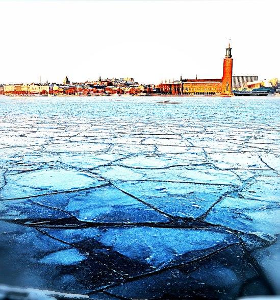 Riddarfjärden på is II / © LEX 2013