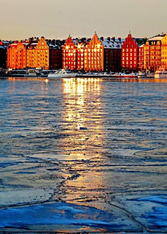 Riddarfjärden på is III / © LEX 2013
