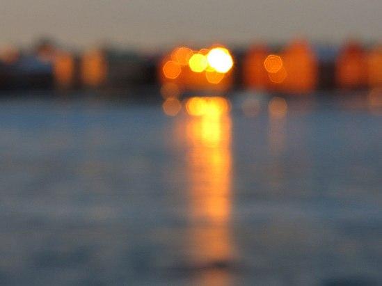 Riddarfjärden på is IV / © LEX 2013