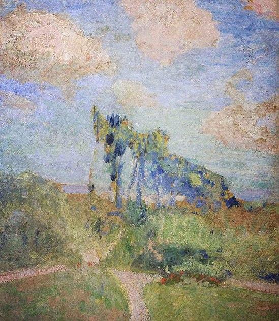 Eduouard Vuillard: Trädgården i Amfreville, (1905-1907)