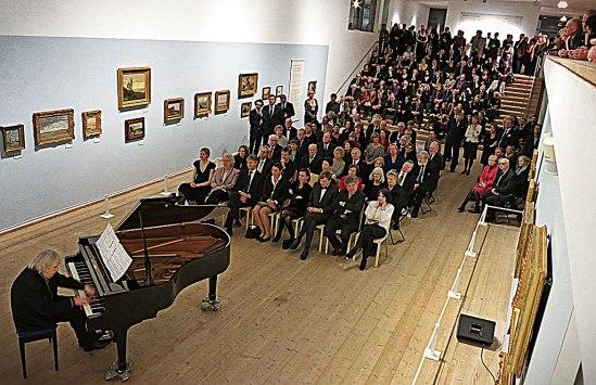 Carl-Axel Dominique bjöd på musikaliska impressionismer