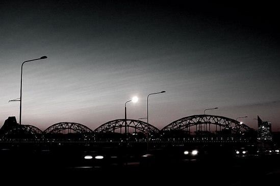 Järnvägsbron tål att ses även från andra hållet!