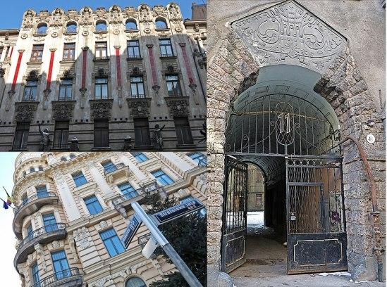 Michail Eisenstein var en av arkitekterna bakom flera av de finaste Art Noveau-husen i Riga.    Sonen hette Sergei och var filmregissör.