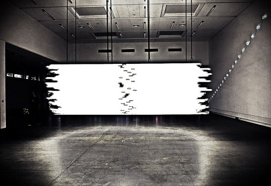 "Monica Bonvicini ""Light Me Black"" (2009)"