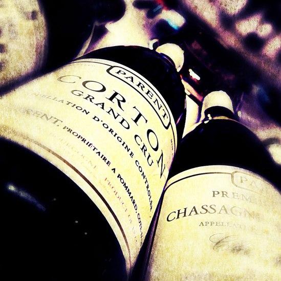 Mycket gott att prova när Bourgogne exponerar sina viner.