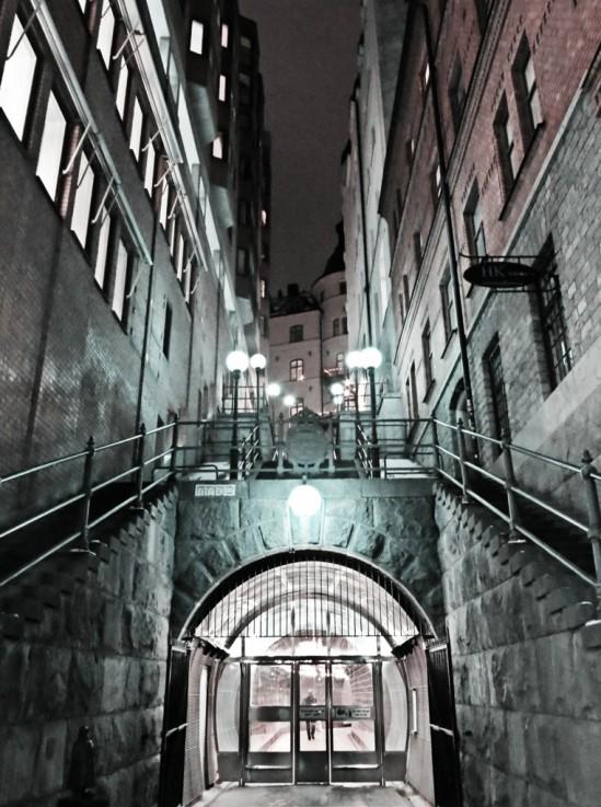 Tunnelgatan/Brunkeberg / © LEX 2013