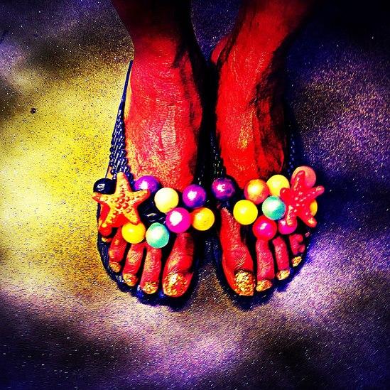 Glada fötter / © LEX 2013