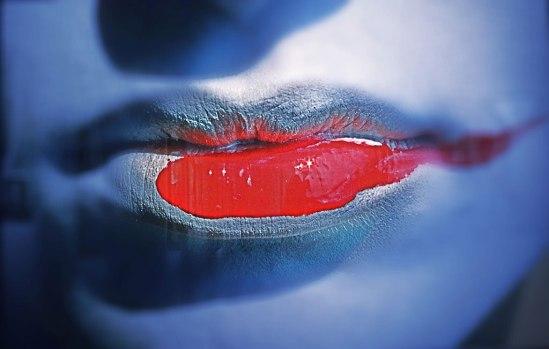 """Tar mig friheten att framhäva HN:s nagellacksläppstiftiga """"Rouge à lèvres étalé"""" (1983)"""