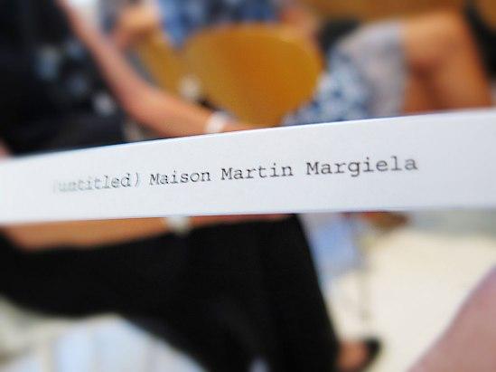 Margiela3-MBFW-SS14 / © LEX 2013