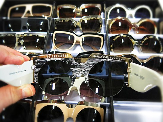 Läckra solglasögon för den som vågar och vill synas! Ett Malmöitiskt amarbete mellan den spännande modedesignduon Natalia Altewai & Randa Saome och KunoQvist Eyewear.