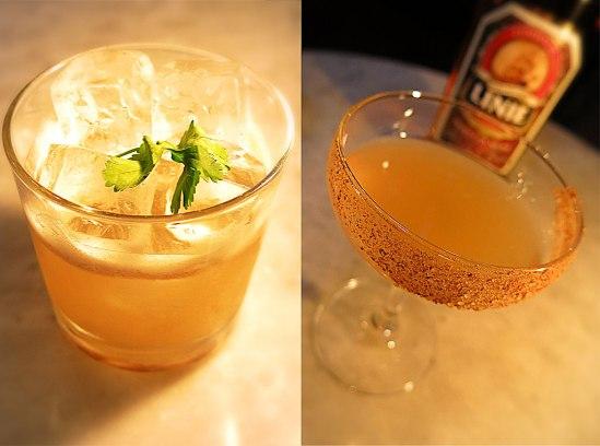 Jubilee Sour & Norwegian Martini