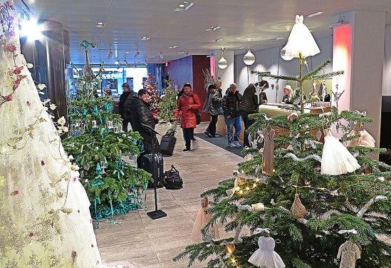 Julgransutställning7 / © LEX 2103