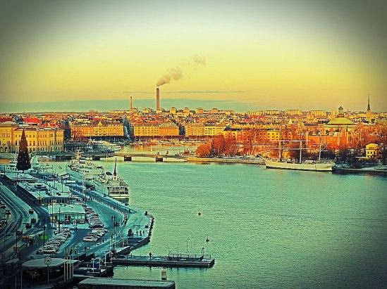 Det skymmer över Skeppsbron / © LEX 2103