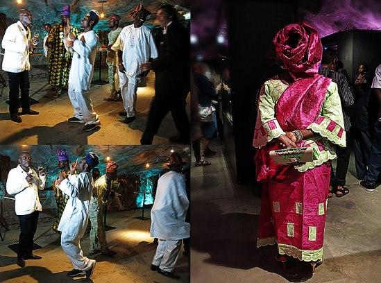 Flott färgmatchat och livat dansant på invigningen