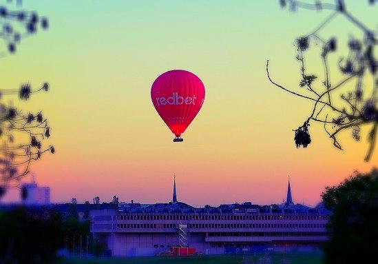 Ballong-över-Gärdet / © LEX 2014