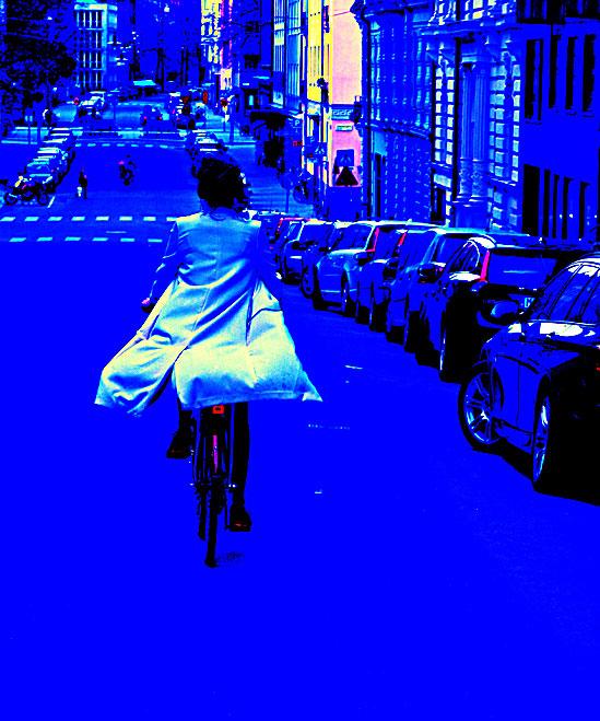 Cykla-i-det-blå / © LEX 2014