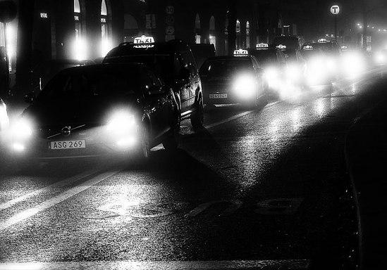 Svart-taxi / © LEX 2014