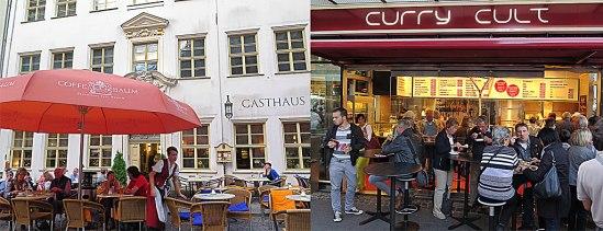 Gammal tradition & nyare… Zum Arabischen Coffe Baum har serverat kaffe sedan 1711, vilket gör det till ett av Europas äldsta kaffehus