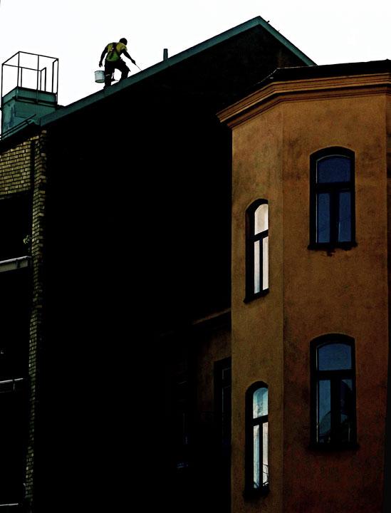 på taket / © LEX 2015