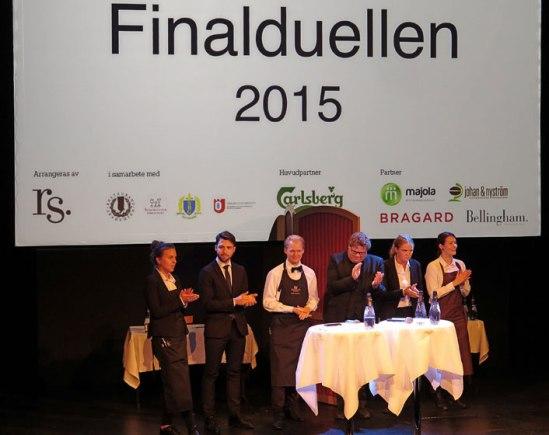 De sex semifinalisterna som strax ska bli två finalister